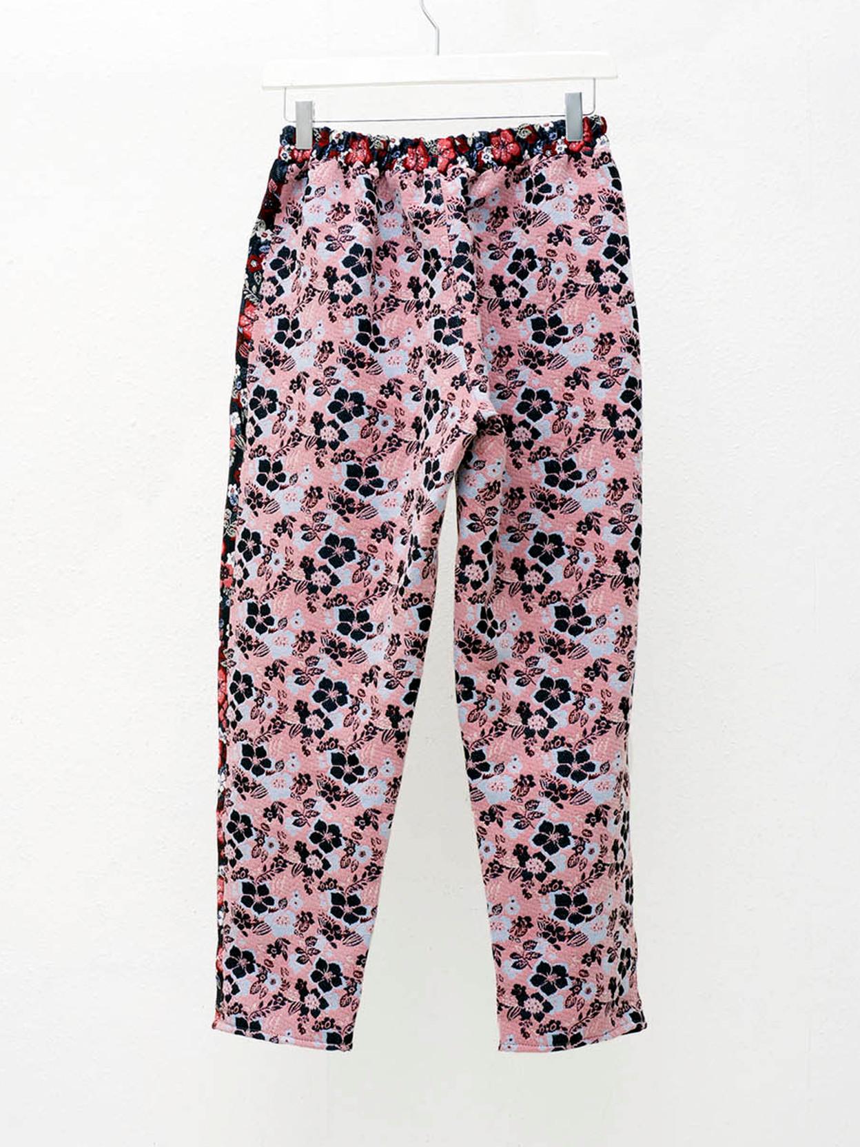 Tata Christiane Pink Flower Pants Wut
